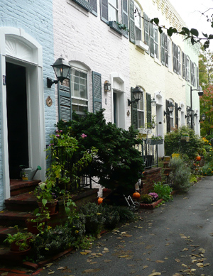 Pomander Walk, Georgetown, Washington D.C.