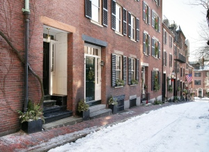 Acorn Street, Boston, MA. Source: Amanda Beattie