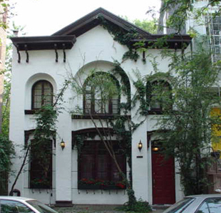 A carriage house in Cobble Hill, Brooklyn.