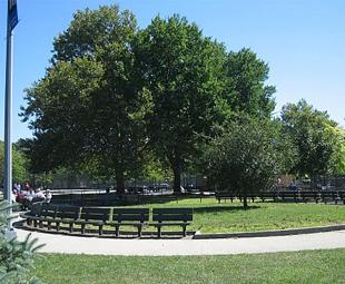 Juniper Park, Middle Village, New York.