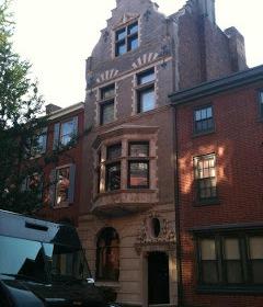 Dutch Revival Row House in Philadelphia.