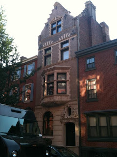 Dutch Revival row house in Philadelphia.