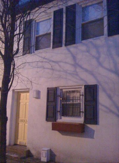 Piet Mondrian row house in Philadelphia, PA.