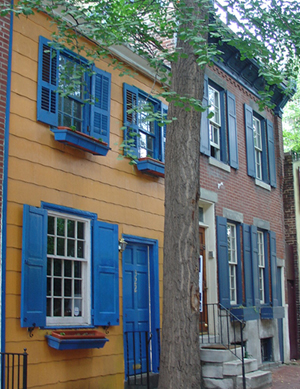 Camac Street Row House, Philadelphia, PA