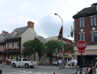 South Street is the main shopping, restaurant, and nightlife area of the neighborhood.