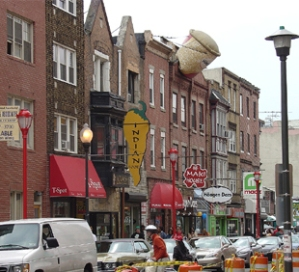 South Street in Philadelphia, PA.