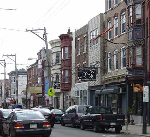 Fabric Row, 4th Street, Philadelphia.