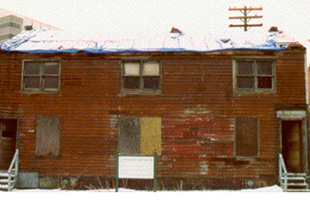 The Workers' Row House, Corktown, Detroit.