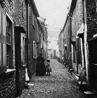 Great Yarmouth Row Houses, United Kingdom.