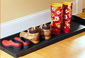 Handcrafted Metal Boot Tray