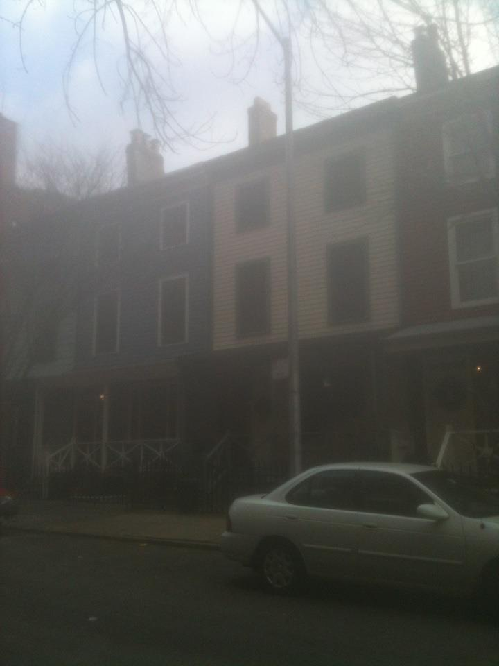 Columbia Place row house in Brooklyn, N.Y.