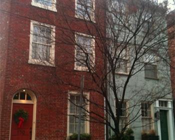 Philadelphia row house.