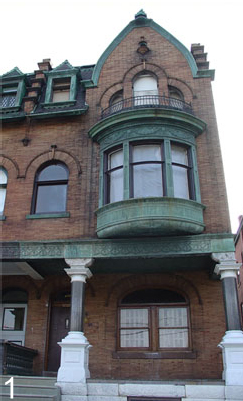 The developer is preserving the exterior of this grand home, while converting the inside to several apartments.