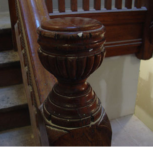 This is the original staircase.