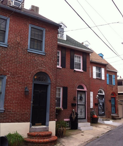 Row houses in Northern Liberties.
