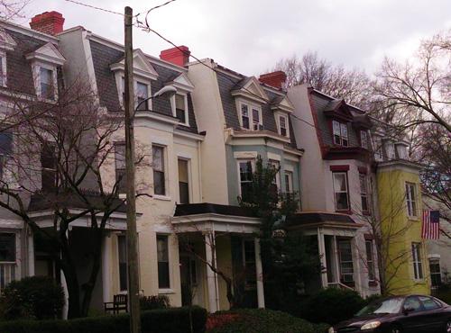 Victorian Row Houses In Richmond Virginia The Urban