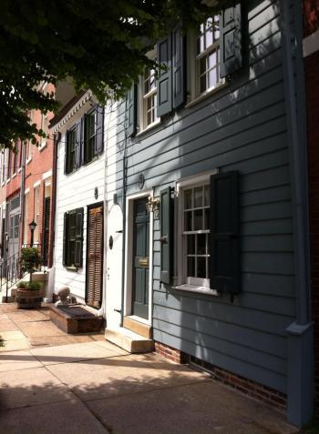 Federal Row House in Philadphia