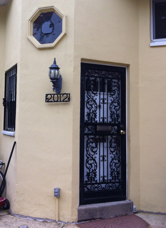 Spanish Mission Revival Style Row House