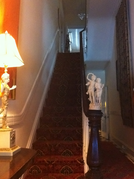 Stairs - Greek Revival Row House, Philadelphia