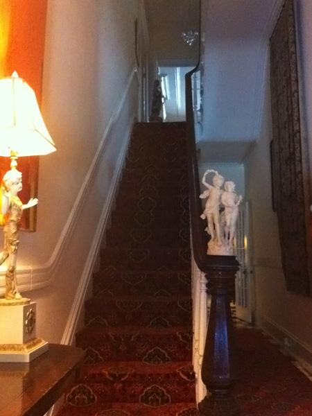 Stairs - Greek Revival Row House, Philadelphia