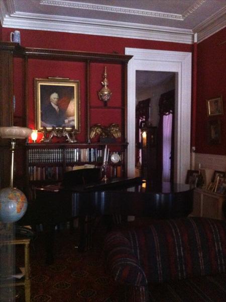 Parlor - Greek Revival Row House, Philadelphia