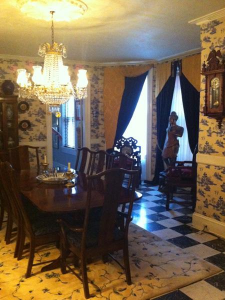 Formal dining room - Greek Revival Row House, Philadelphia