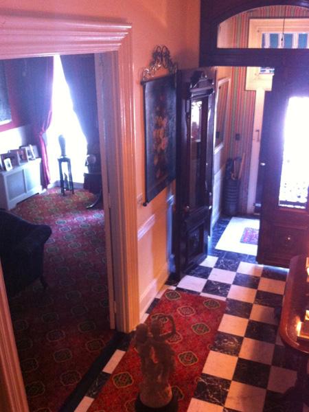 Entry hall - Greek Revival Row House, Philadelphia