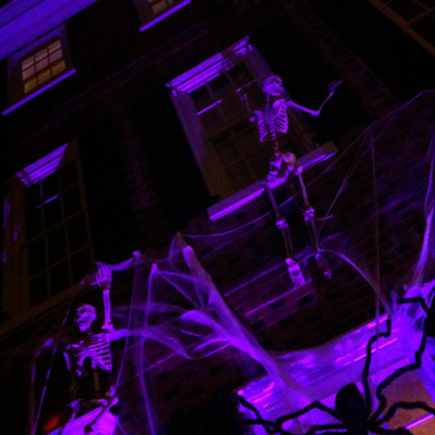 Halloween Row House