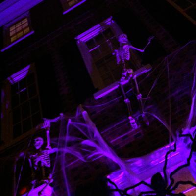 Halloween Row House