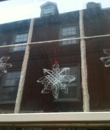 Christmas Holiday Row House Decoration