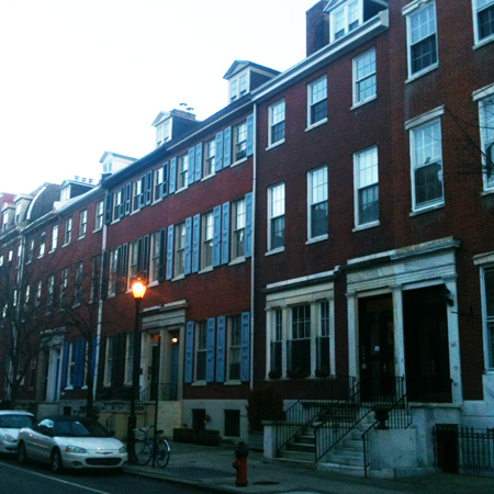Greek Revival Row House