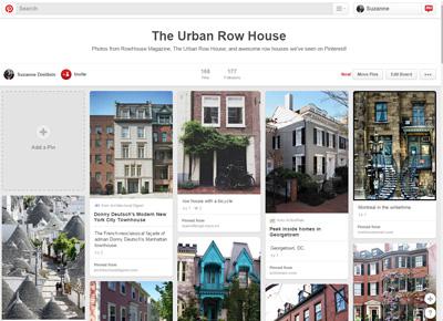 The Urban Row House on Pinterest