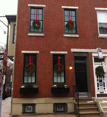 Row House Holiday 2014