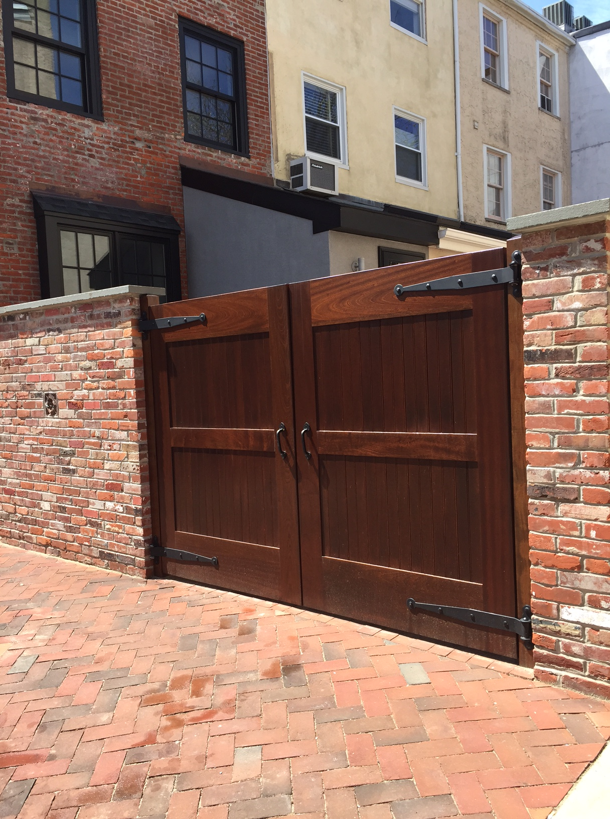 Distinguished Row House Garage Doors The Urban Rowhouse