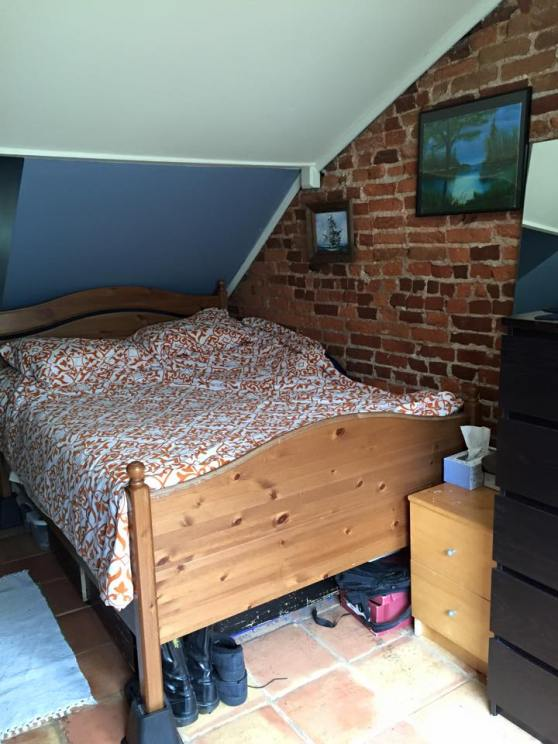In a small Federal row house, it is very likely that you will have at least one Dormer bedroom.