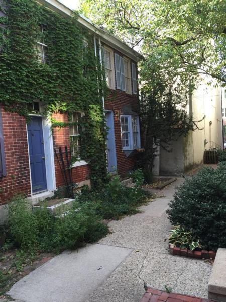 Hidden Row Houses in Philadelphia