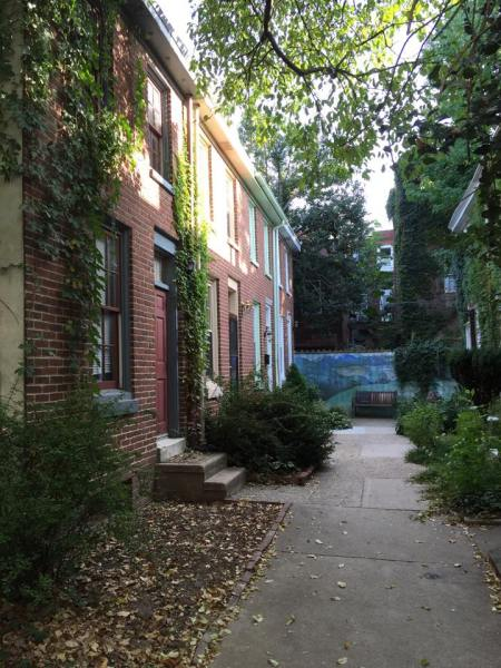 Hidden Row House Rows in Philadelphia